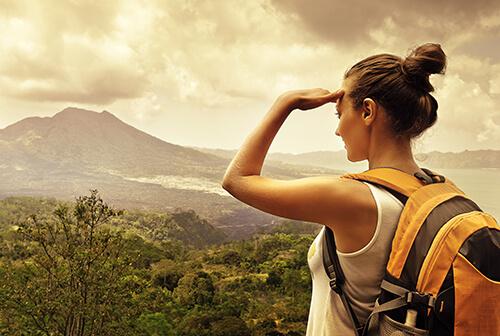 woman-hiker-looking