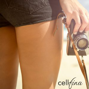 Woman in Shorts with a Camera-2-1